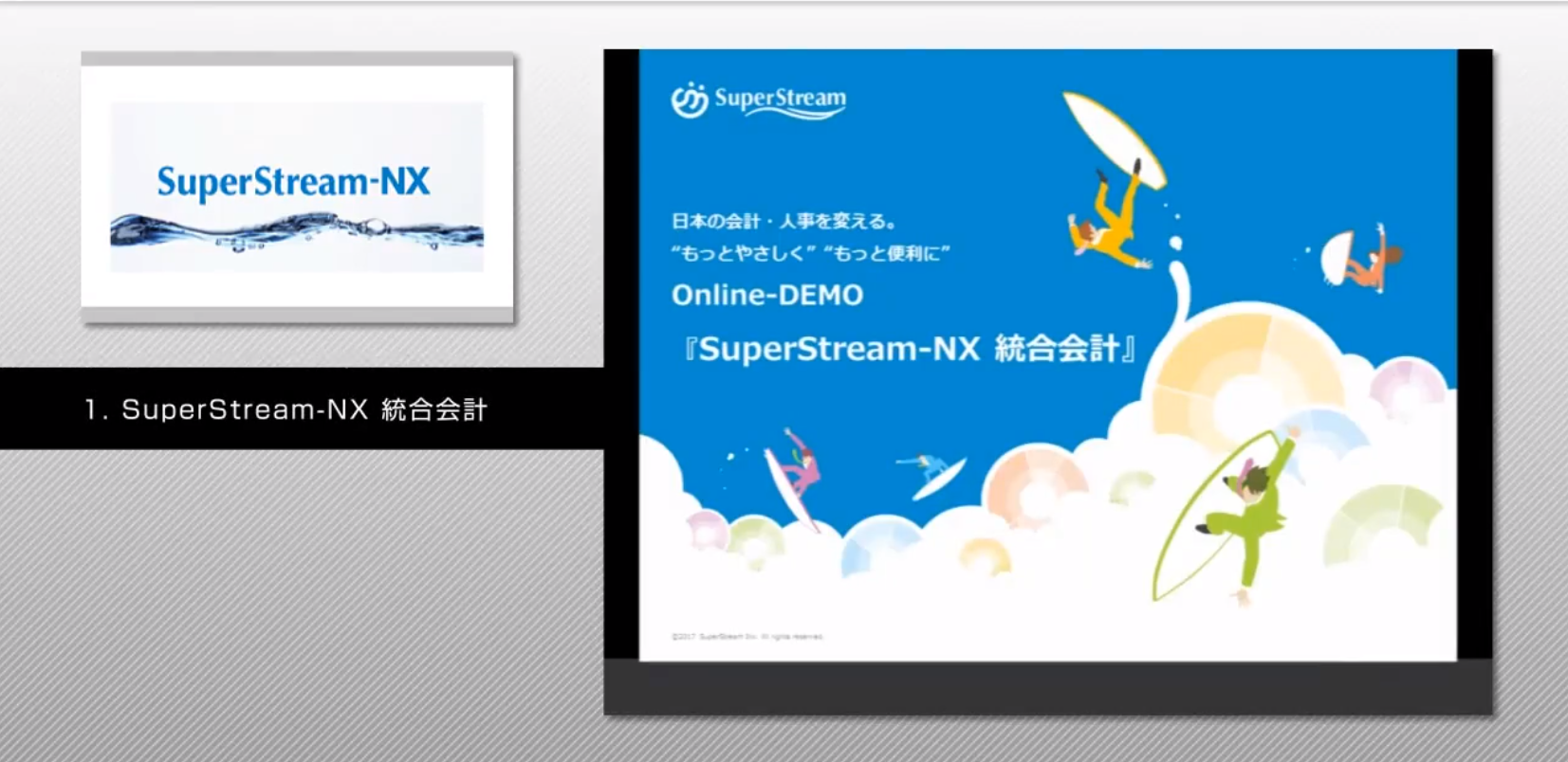 SuperStream-NX Ver.2.0 統合会計
