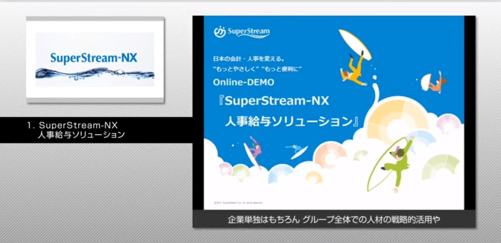 SuperStream-NX Ver.2.0 人事給与ソリューション