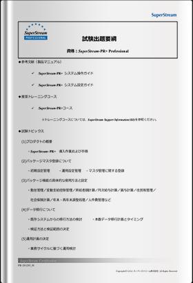 PR+ Professional試験出題要綱